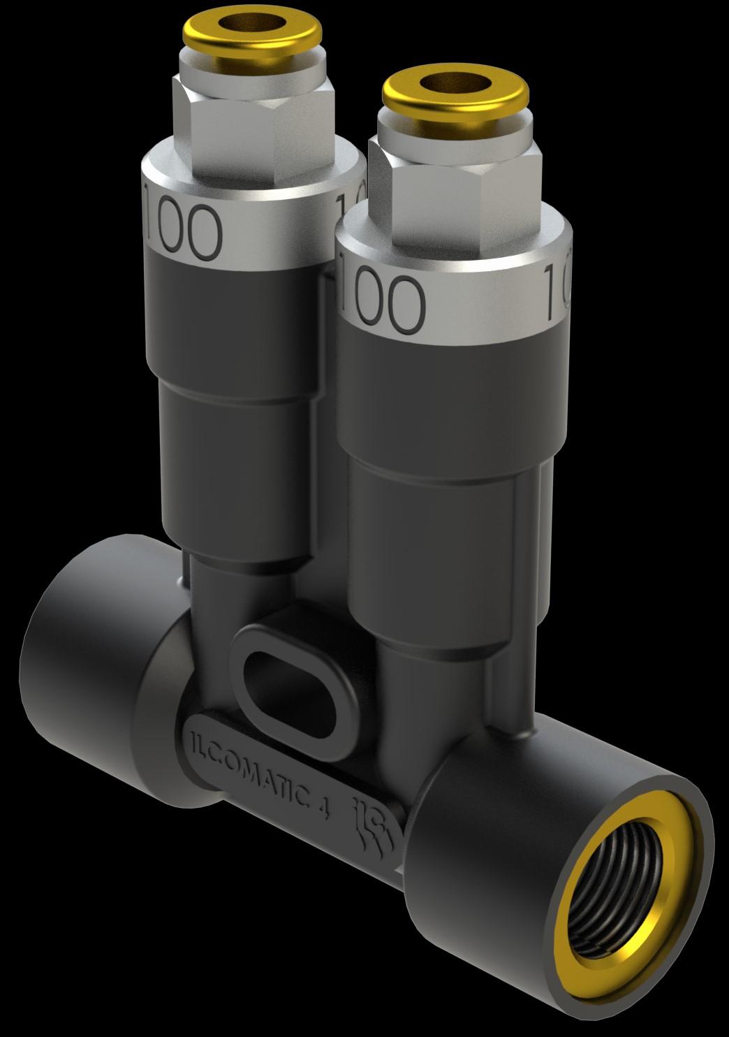 ILCOMATIC 4单线注油器