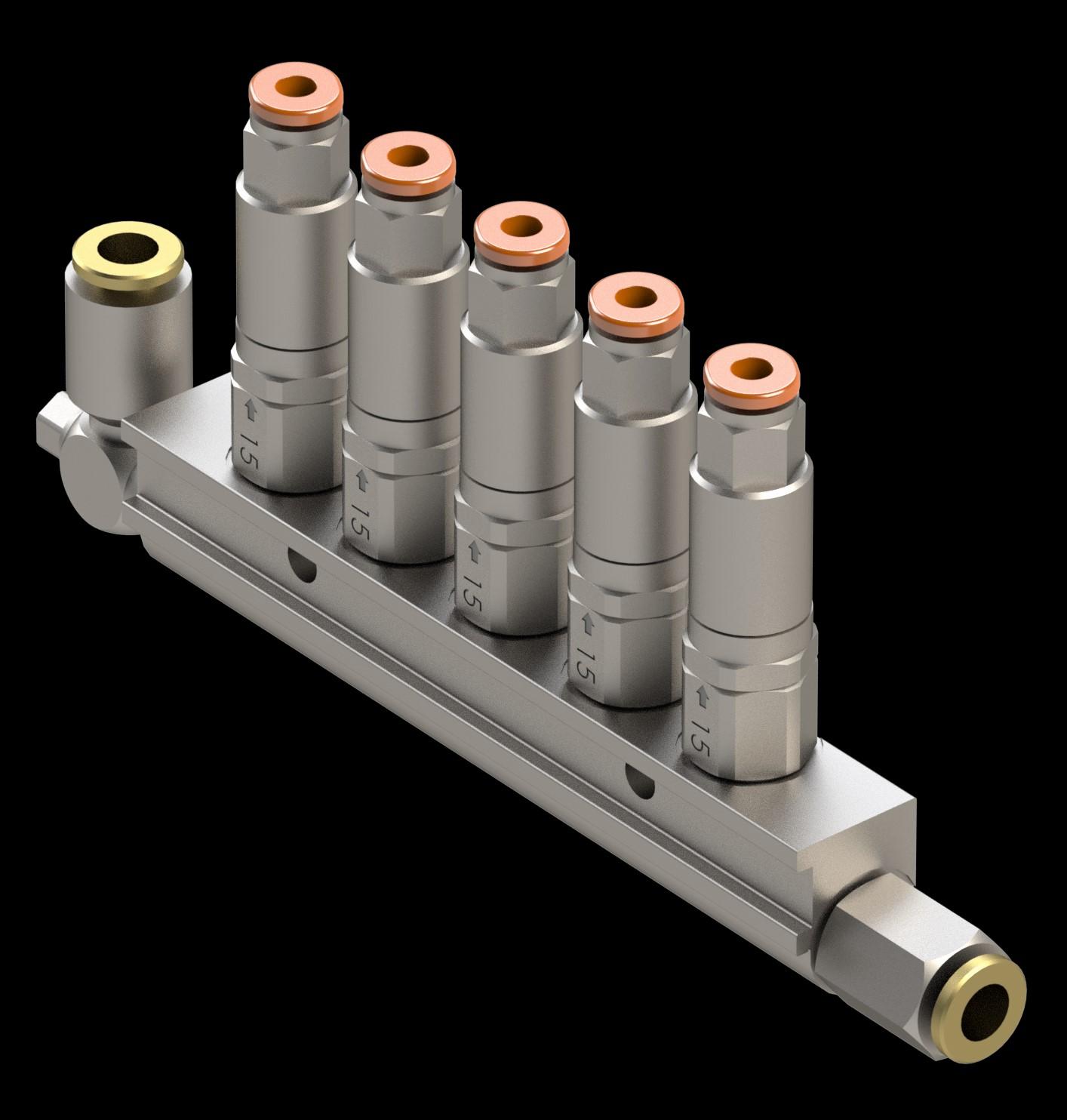 Ilcomatic 3 single line oiler