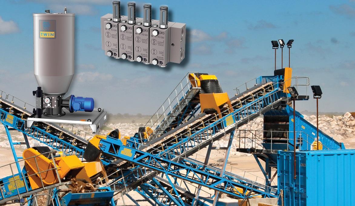 ILC双线系统应用于大型矿山机械上
