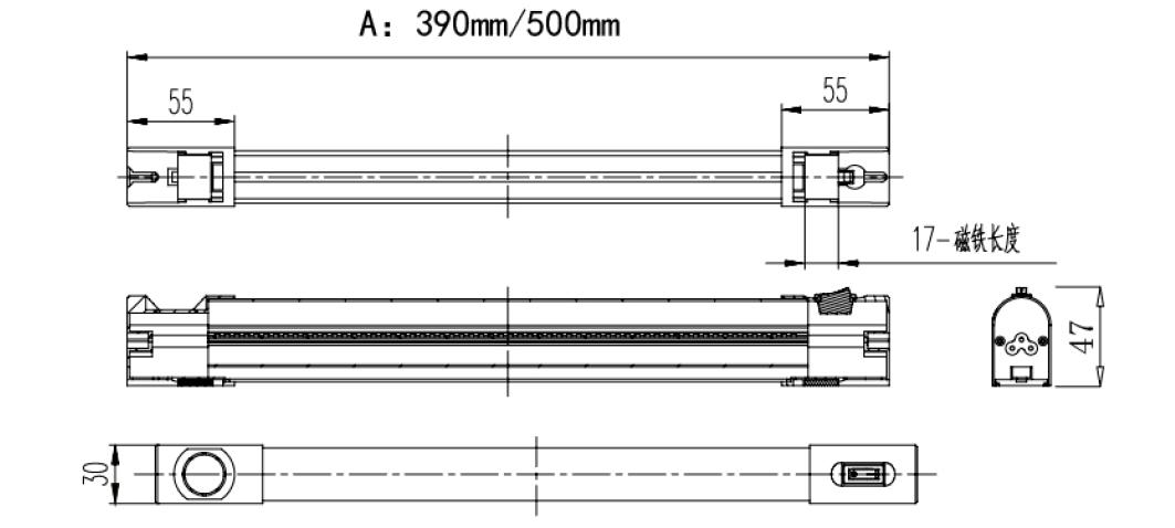 磁吸式机柜照明灯-霆翔电气