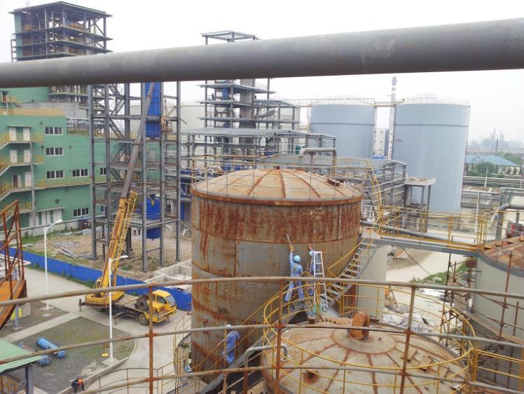 大型容器翻新项目案例