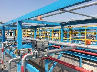 上海金山石化外管廊新增管线工程项目案例