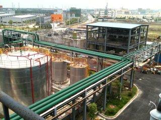 上海金山石化新建储罐区及配套工程项目案例