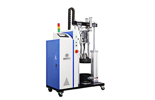 热熔点胶喷头以及供胶系统柱塞式压盘泵