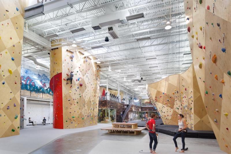 攀岩健身会所