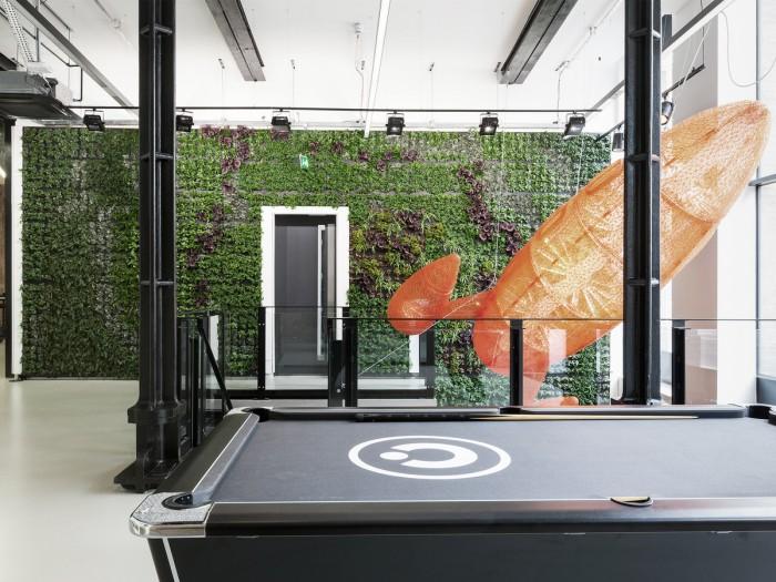 中小型办公室设计桌球区