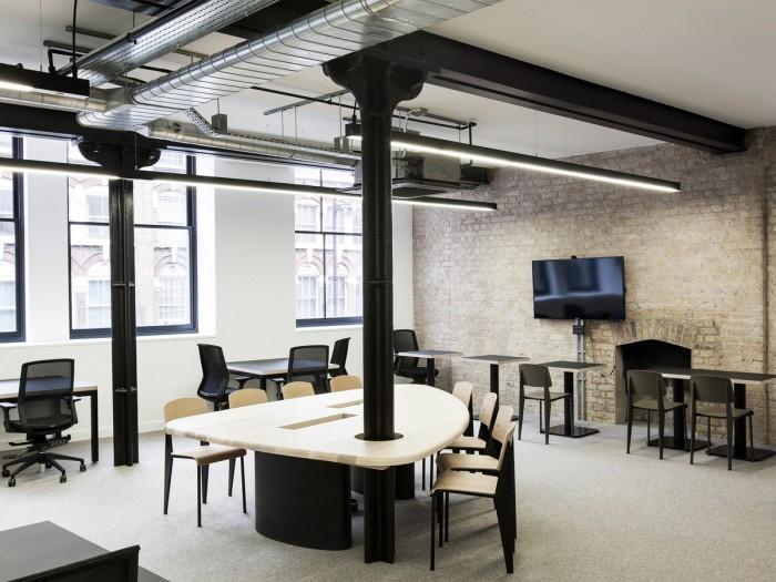 中小型办公室设计一角