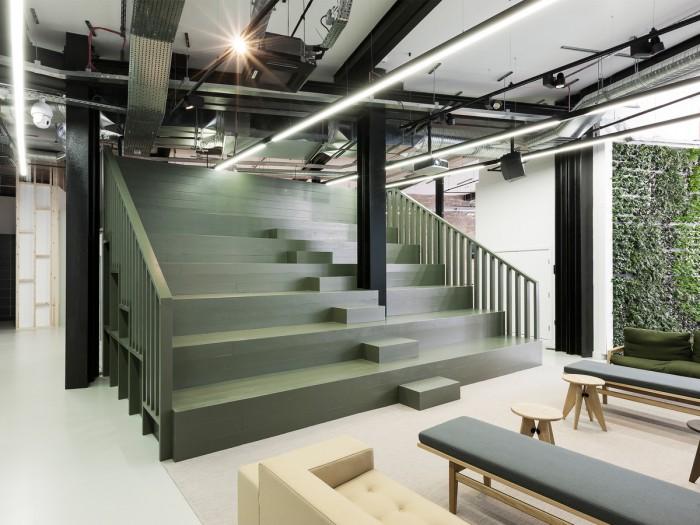 中小型办公室设计创意楼梯