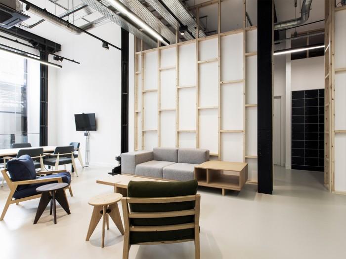 中小型办公室设计会客沙发