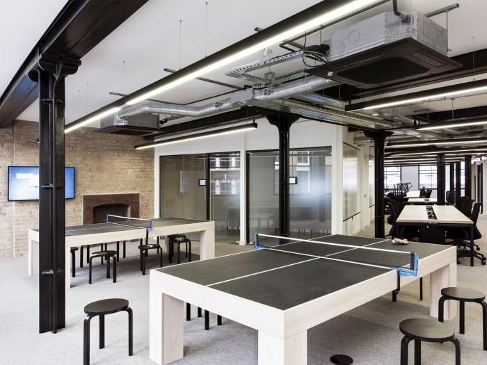 中小型办公室设计乒乓球区
