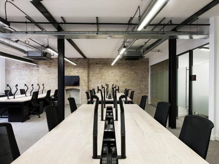 中小型办公室设计开放工位