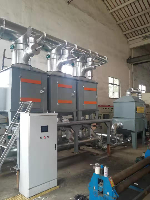 催化燃烧设备出厂前系统调试