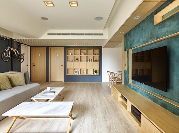 北欧风格,家庭装修,原木风格