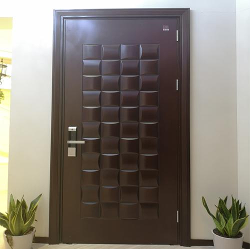钢木防盗门