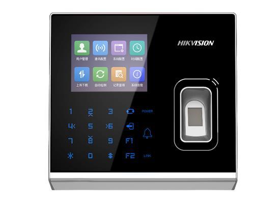 DS-K1T301系列 電容式指紋門禁一體機