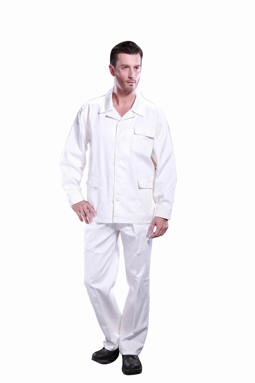 白色焊工服