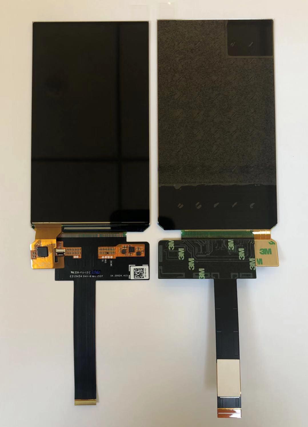 AUO 5.0inch 720x1080  AMOLED mipi 手持  户外