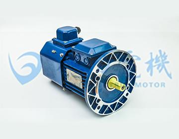 方型铝壳电磁制动三相异步电动机