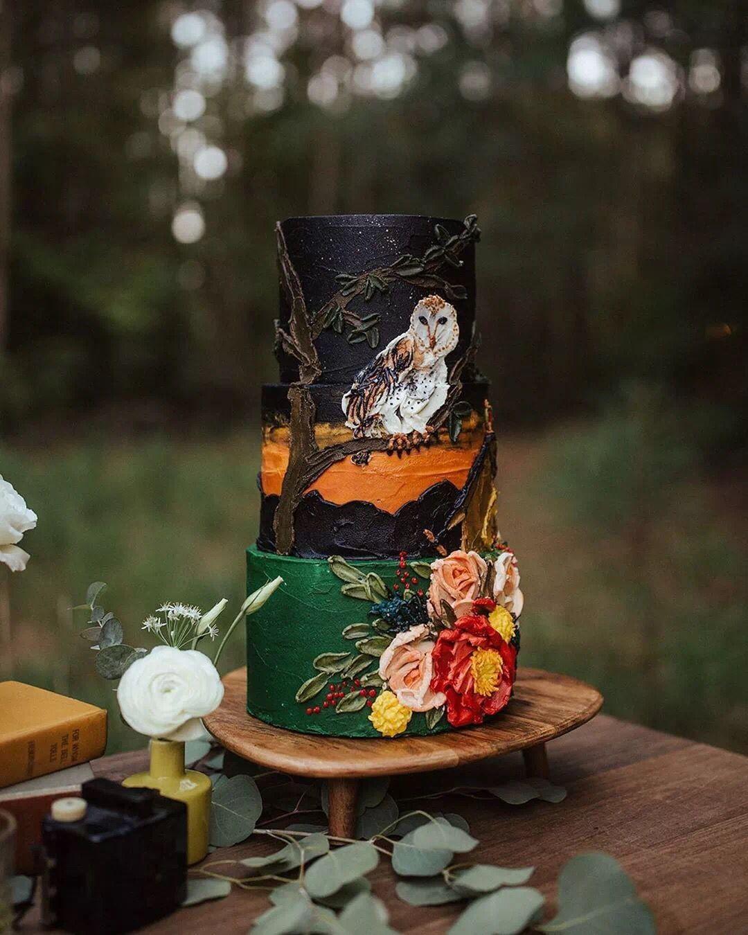 浮雕手绘蛋糕新启点烘焙培训