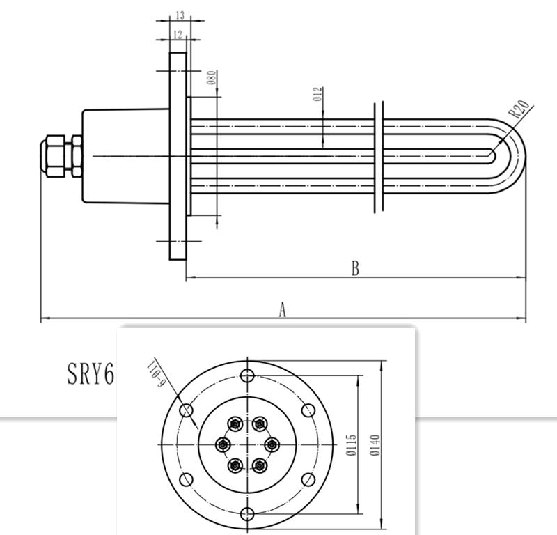 SRY6油加热器