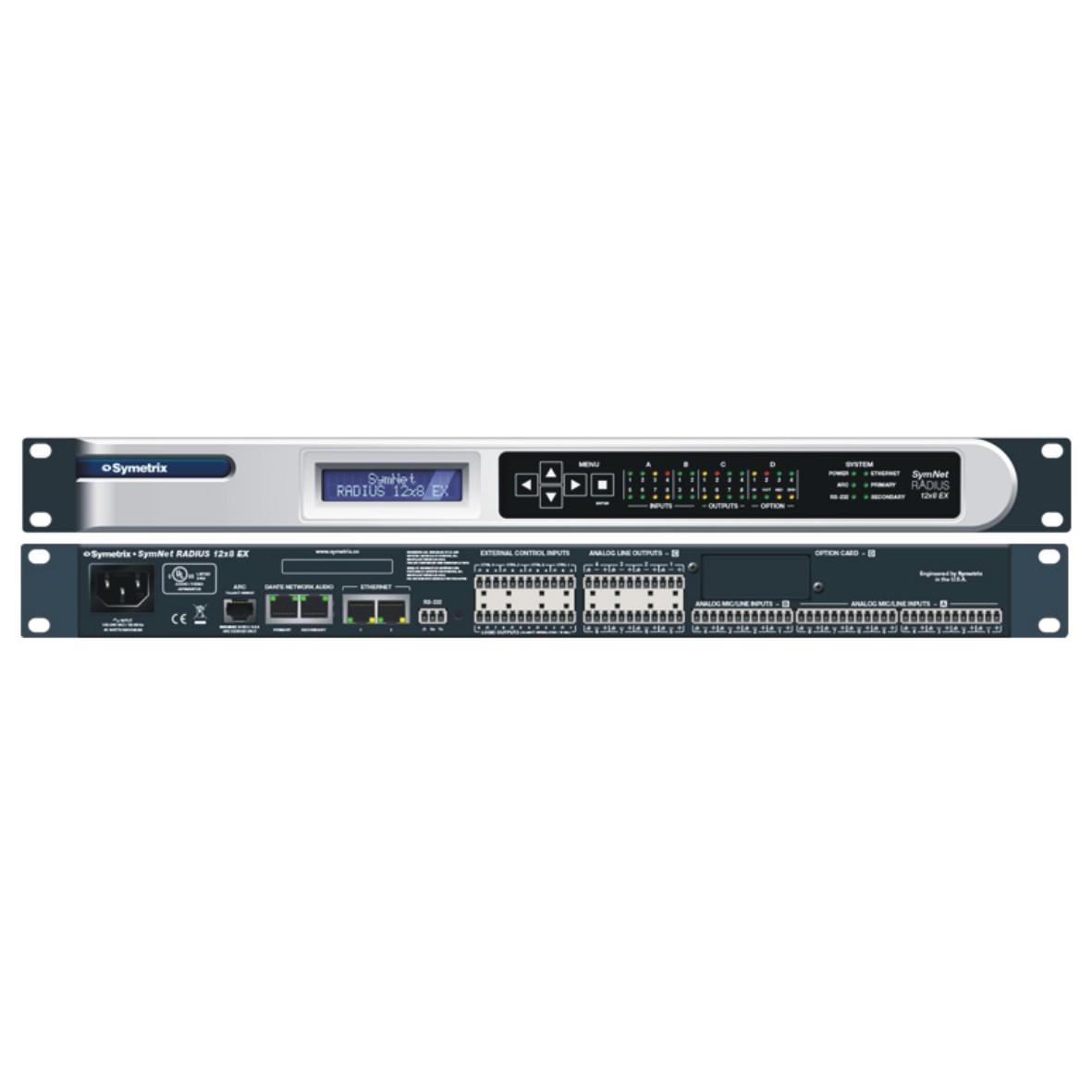 Radius 12x8 数字音频处理器