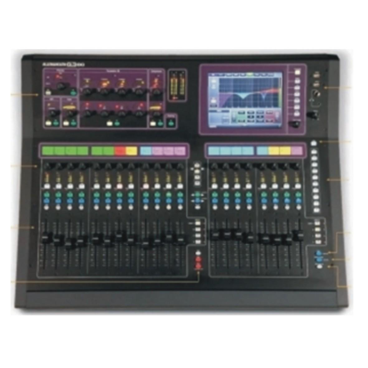 GLD-80 数字调音台