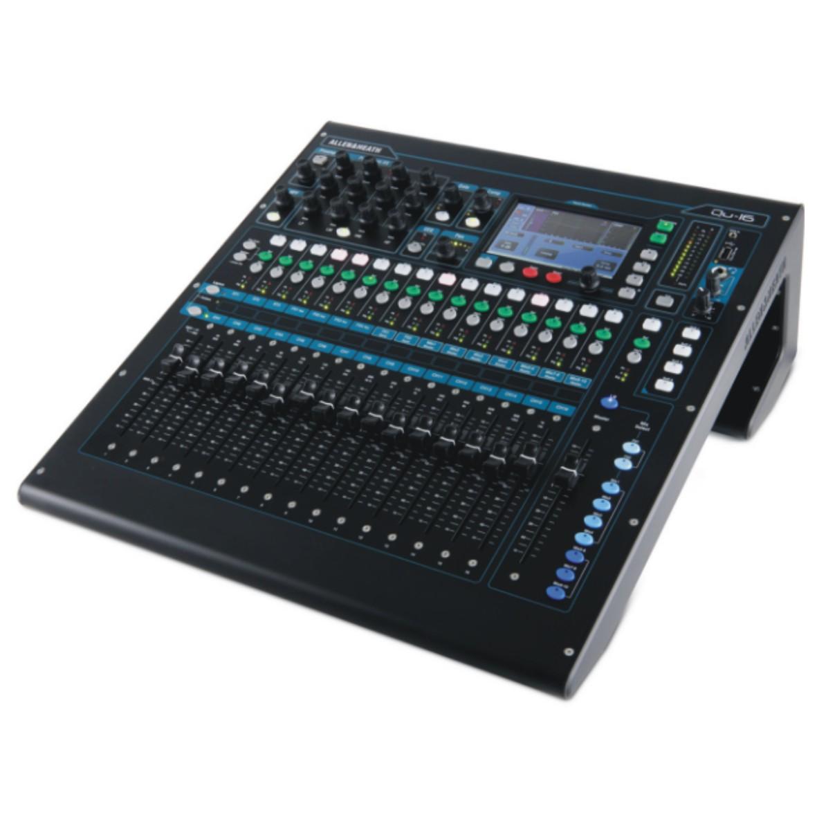 QU-16 紧凑型数字调音台
