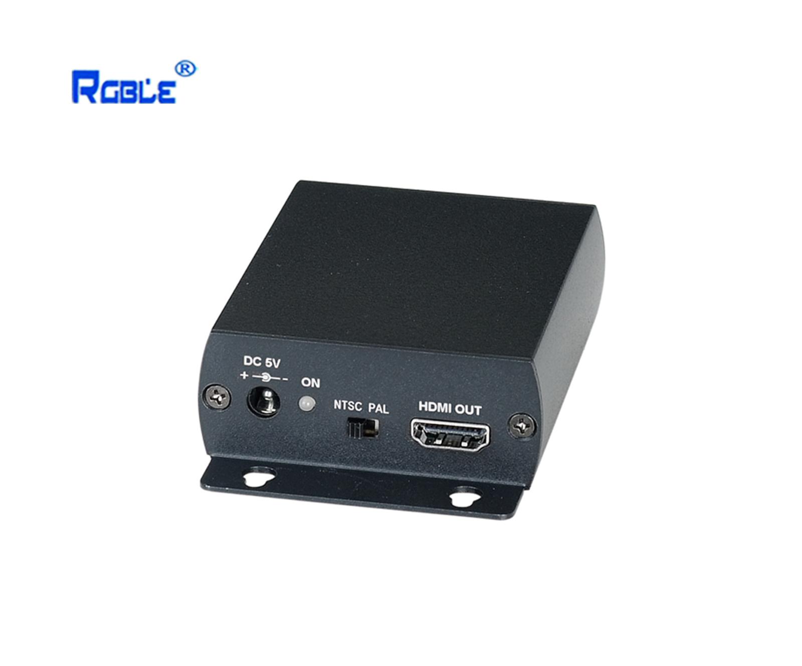 HDMI转复合视频转换器