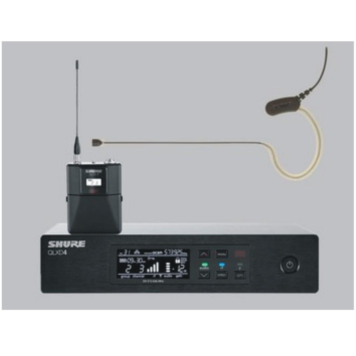 QLXD14/MX153 头戴式无线数字麦克风系统