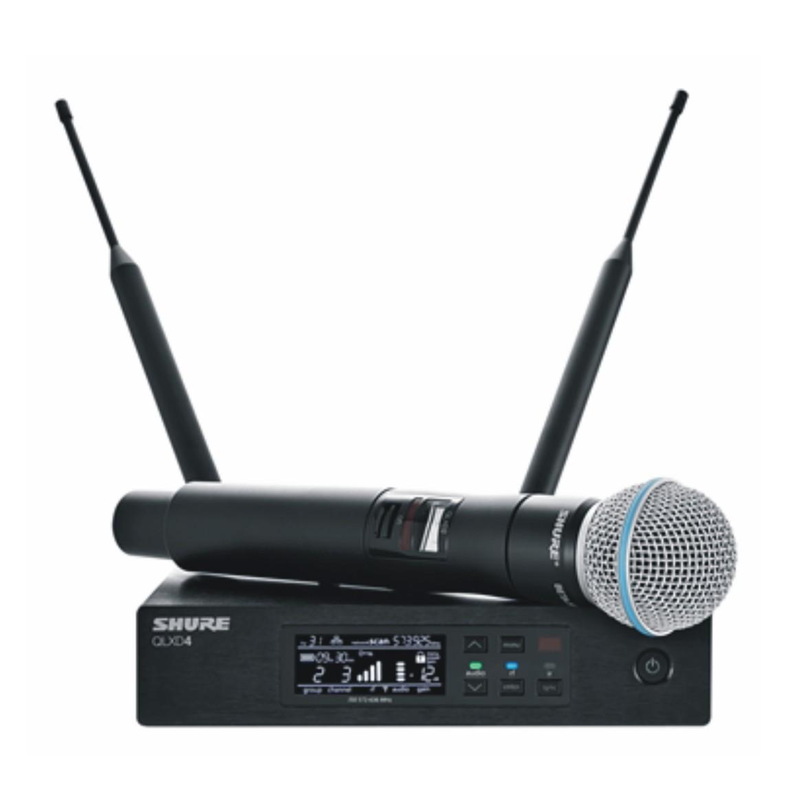 QLXD24/Beta58 手持式无线话筒系统