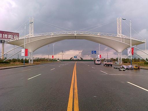 武汉景观膜结构工程的保养维护:
