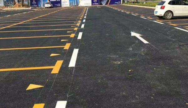 大型停车场划线