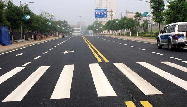 江苏道路划线