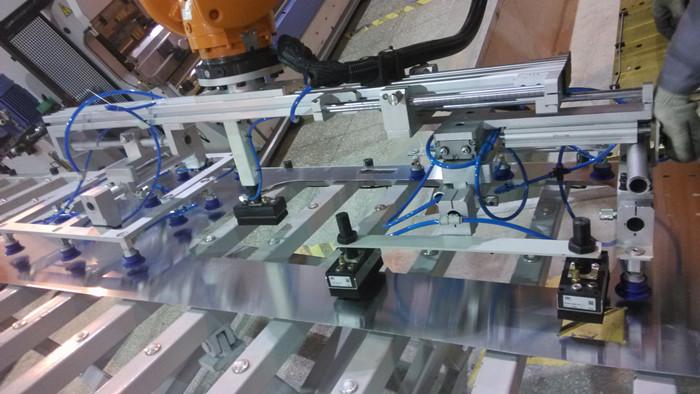 六轴斜轨机器人