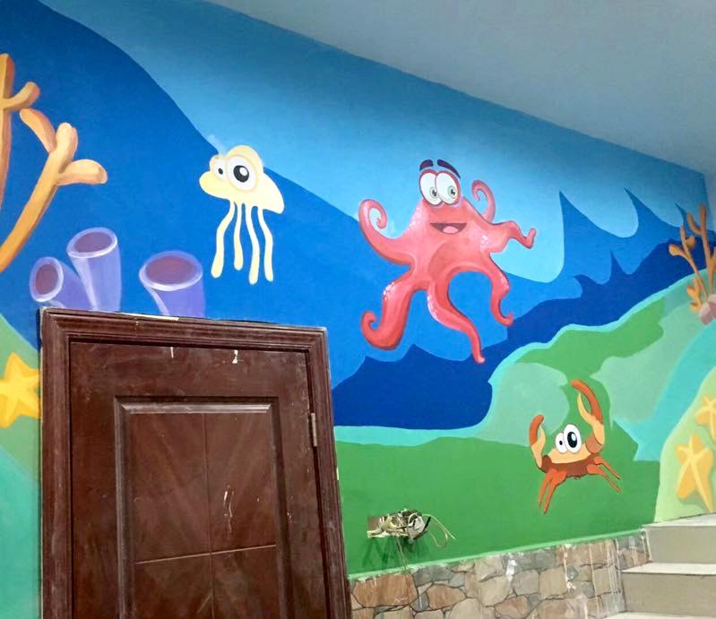 持凡幼儿园彩绘