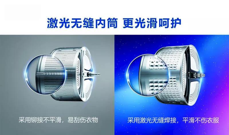 激光焊接机取缔铆接技术在洗衣机内筒的应用