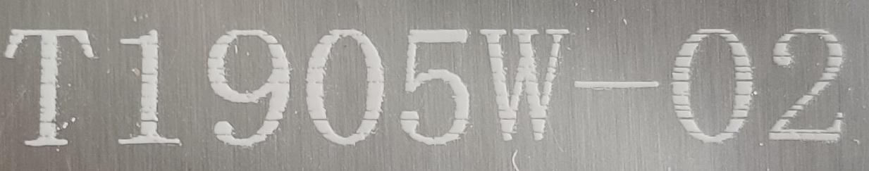 小编给你分享下UV白色墨盒T1905W-02的喷印清晰度