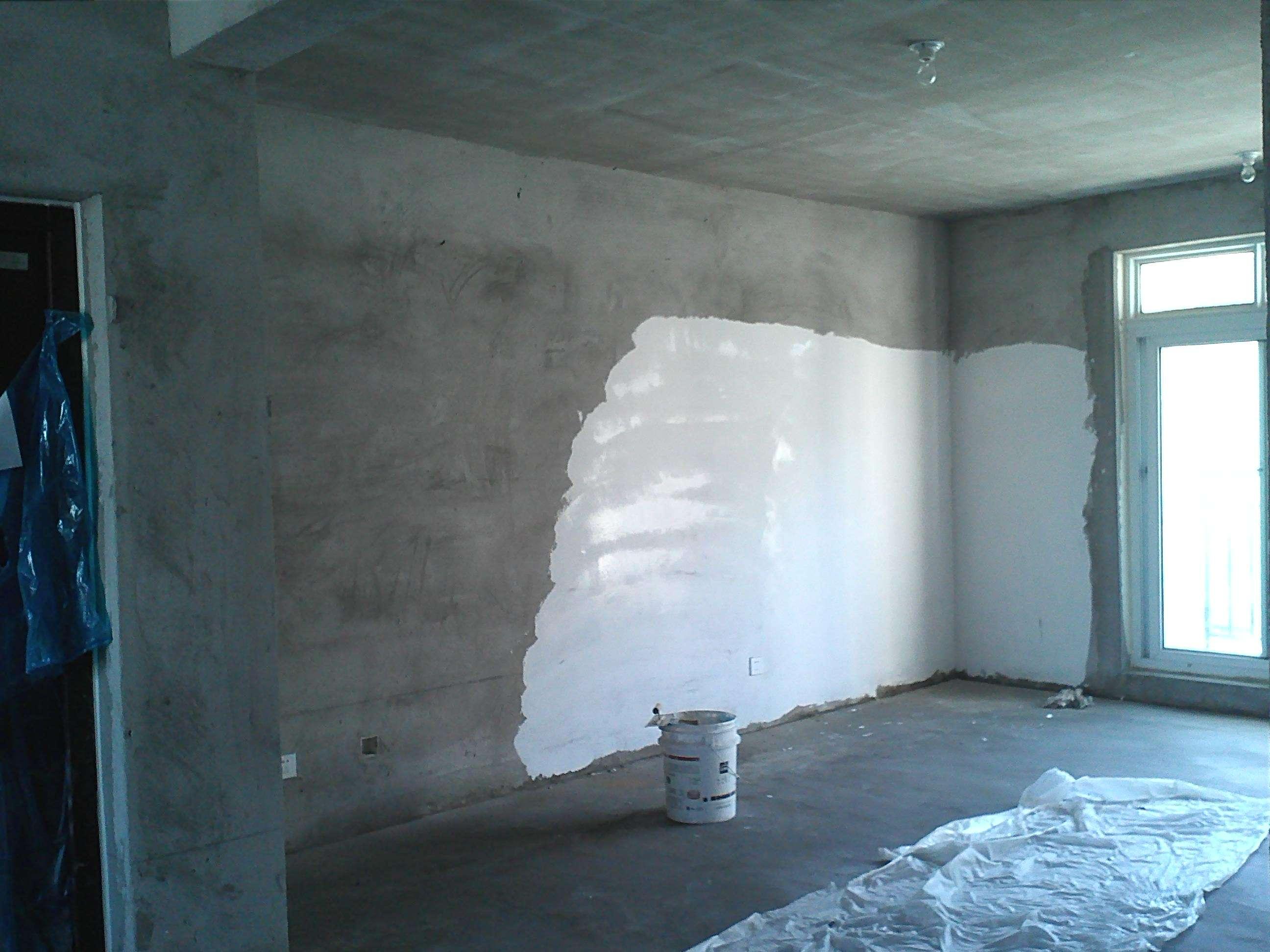 墙面刮腻子粉的操作要点