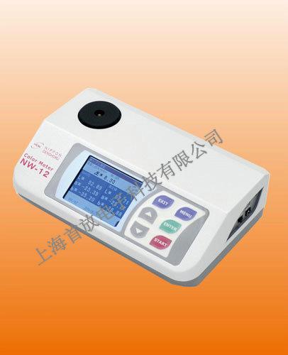 日本电色便携式色彩色度计NW-12