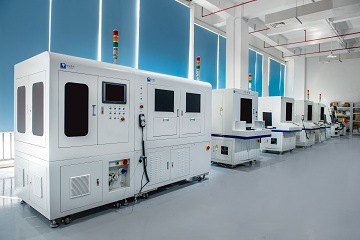 紫宸激光焊锡机设备厂房