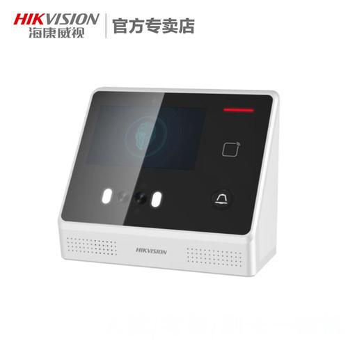 DS-K1T804指紋門禁考勤一體機