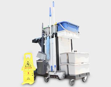 清洁工具案例之机场