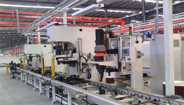 自动化加工生产线