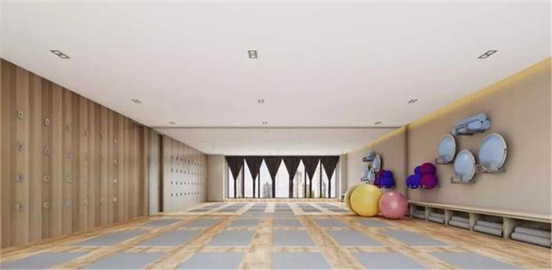 深圳瑜伽馆装修设计