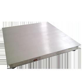 全不锈钢单层小地磅