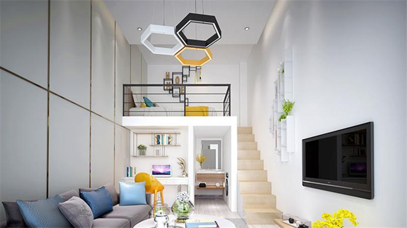 凤凰公寓装修案例