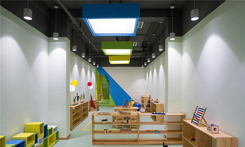 深圳早教中心装修设计
