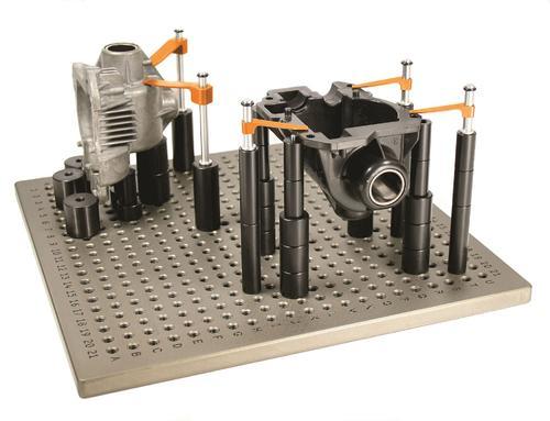 三坐标测量机组合夹具