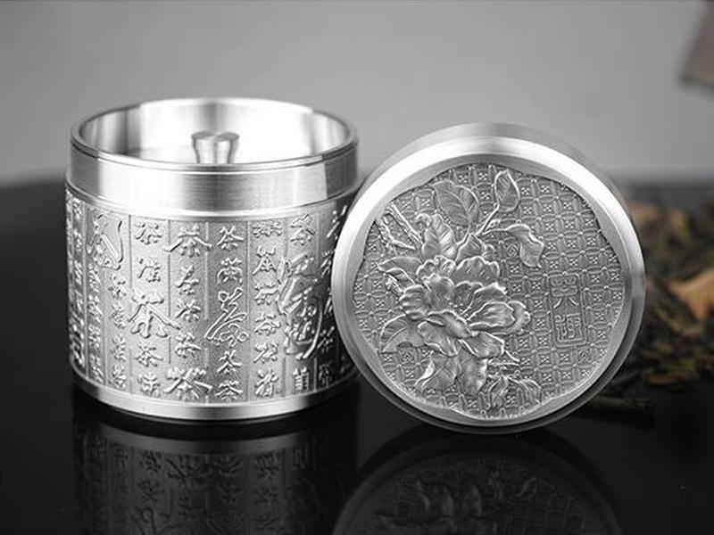周年庆礼品定制-纯锡锡罐-可定制礼品LOGO