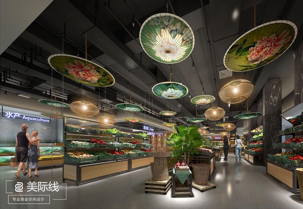 深圳商场如何进行布局设计,店铺位置选择有什么讲究?-美际线商业设计有限公司